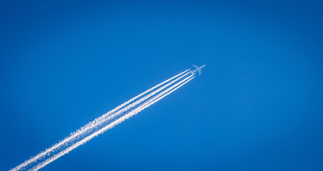 Contrails or the famed chemtrails
